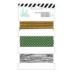 Heidi Swapp - Ribbon Set - Gold and Green