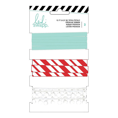 Heidi Swapp - Ribbon Set - Blue and Red