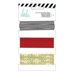 Heidi Swapp - Ribbon Set - Red and Black