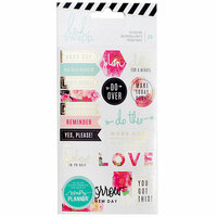 Heidi Swapp - Memory Planner - Cardstock Stickers - Floral