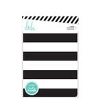 Heidi Swapp - Memory Planner - Planner - Personal - Black and White Stripe - Undated
