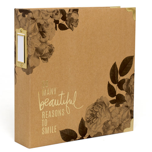 Heidi Swapp - Storyline Collection - 8 x 11 Album - Floral