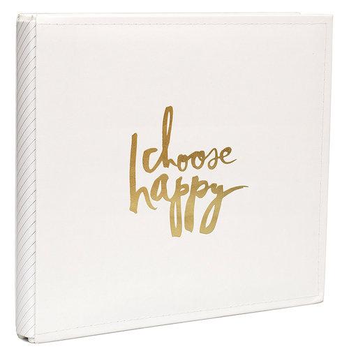 Heidi Swapp - Storyline Collection - 12 x 12 Album - Cream