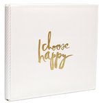 Heidi Swapp - Storyline Collection - 12 x 12 Album - Cream
