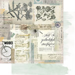Heidi Swapp - Magnolia Jane Collection - 12 x 12 Double Sided Paper - Vintage Market