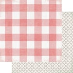 Heidi Swapp - Magnolia Jane Collection - 12 x 12 Double Sided Paper - Southern Cottage