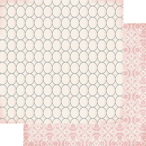 Heidi Swapp - Magnolia Jane Collection - 12 x 12 Double Sided Paper - Georgian Charm
