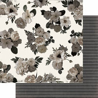 Heidi Swapp - Magnolia Jane Collection - 12 x 12 Double Sided Paper - Secret Garden