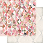 Heidi Swapp - Magnolia Jane Collection - 12 x 12 Double Sided Paper - Flea Market