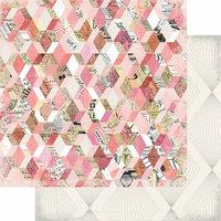 Heidi Swapp - Magnolia Jane Collection - 12 x 12 Double Sided Paper - Flea Market