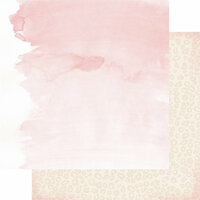Heidi Swapp - Magnolia Jane Collection - 12 x 12 Double Sided Paper - Blushed