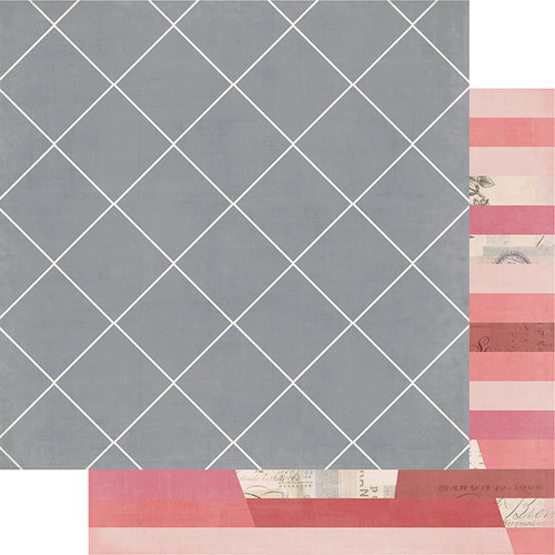 Heidi Swapp - Magnolia Jane Collection - 12 x 12 Double Sided Paper - Antebellum