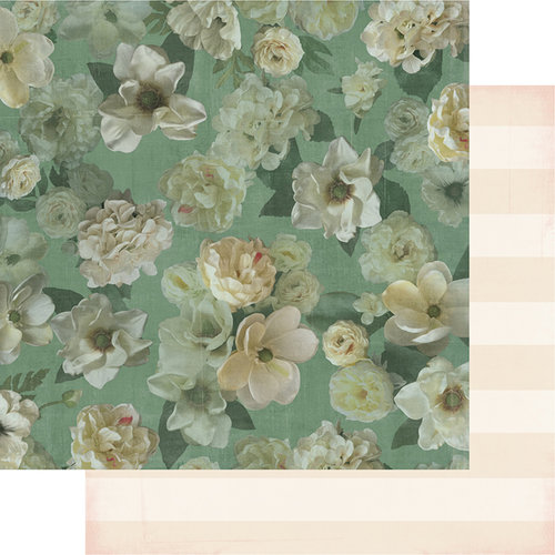 Heidi Swapp - Magnolia Jane Collection - 12 x 12 Double Sided Paper - Miss Jane