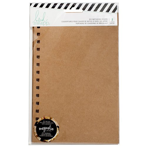Heidi Swapp - Magnolia Jane Collection - Notebook Cover - Kraft