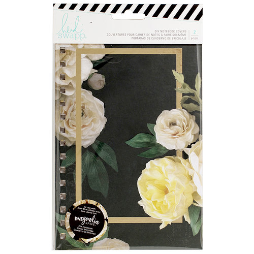 Heidi Swapp - Magnolia Jane Collection - Notebook Cover - Floral