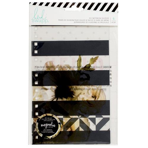 Heidi Swapp - Magnolia Jane Collection - Divider Tabs