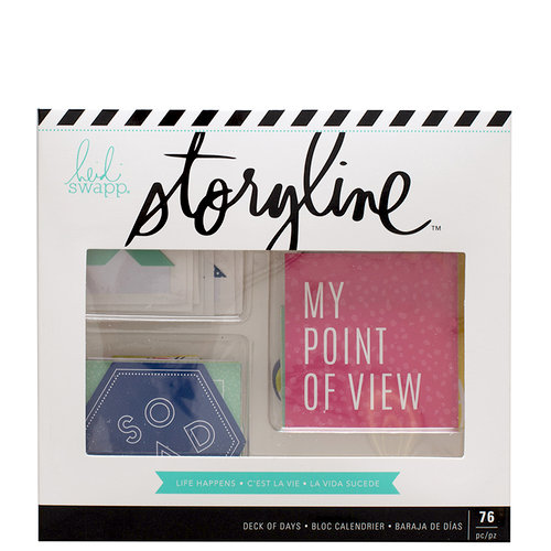 Heidi Swapp - Storyline Collection - Deck of Days - Life Happens