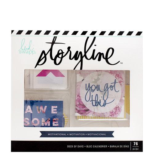 Heidi Swapp - Storyline Collection - Deck of Days - Motivational