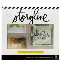 Heidi Swapp - Storyline Collection - Deck of Days - Adventure