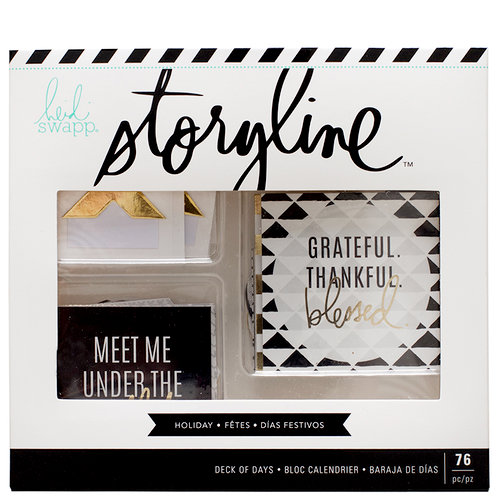 Heidi Swapp - Storyline Collection - Deck of Days - Holiday