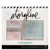Heidi Swapp - Storyline Collection - Deck of Days - Baby