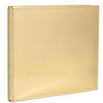 Heidi Swapp - Storyline Collection - 12 x 12 Album - Gold