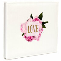 Heidi Swapp - Storyline Collection - 12 x 12 Album - Peony