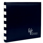 Heidi Swapp - Storyline Collection - 12 x 12 Album - Black