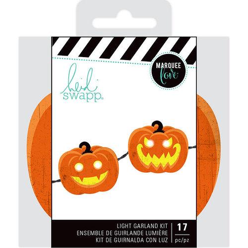 Heidi Swapp - Marquee Love Collection - Garland - Pumpkin