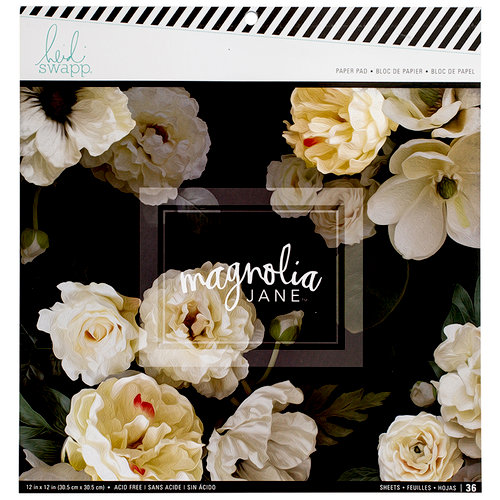 Heidi Swapp - Magnolia Jane Collection - 12 x 12 Paper Pad
