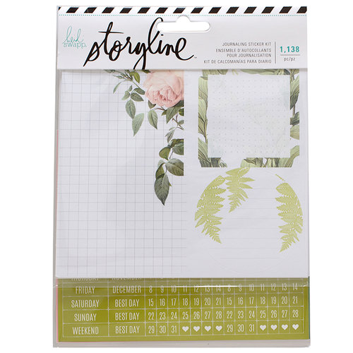 Heidi Swapp - Storyline Collection - Sticker Kit - Botanical