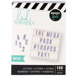 Heidi Swapp - LightBox Collection - Mini Mega Pack - Blue