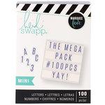 Heidi Swapp - LightBox Collection - Mini Mega Pack - Blue