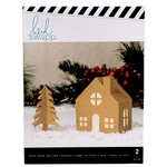 Heidi Swapp - Home for the Holidays Collection - Christmas - Kraft Chimney Cottage