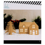 Heidi Swapp - Home for the Holidays Collection - Christmas - House Kraft