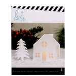 Heidi Swapp - Home for the Holidays Collection - Christmas - Small White Chimney Cottage