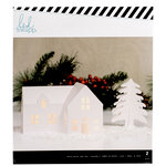 Heidi Swapp - Home for the Holidays Collection - Christmas - White House Kraft
