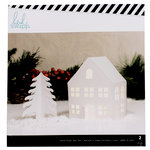 Heidi Swapp - Home for the Holidays Collection - Christmas - Large White House