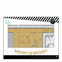 Heidi Swapp - Home for the Holidays Collection - Christmas - Banner Kit - Merry and Bright