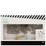 Heidi Swapp - Letterboard - Phrase Kits - Wonderful - Gold