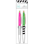 Heidi Swapp - Fresh Start Collection - Memory Planner - Pens