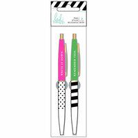 Heidi Swapp - Fresh Start Collection - Memory Planner - Pens