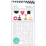 Heidi Swapp - Fresh Start Collection - Memory Planner - Stencils
