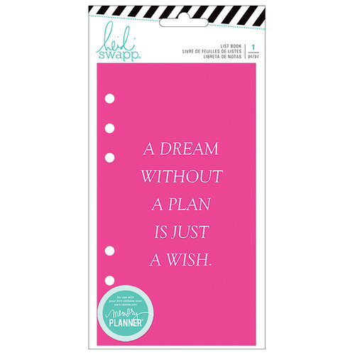Heidi Swapp - Fresh Start Collection - Memory Planner - Journal - List Book - To Do