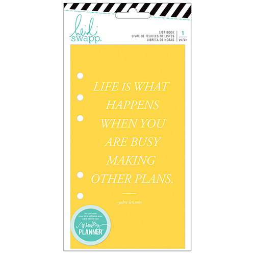 Heidi Swapp - Fresh Start Collection - Memory Planner - Journal - List Book - Budget