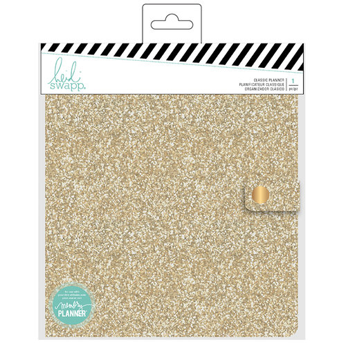 Heidi Swapp - Fresh Start Collection - Memory Planner - Planner - Classic - Gold Glitter - Undated