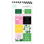 Heidi Swapp - Fresh Start Collection - Memory Planner - Cardstock Stickers - Tropical