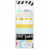 Heidi Swapp - Fresh Start Collection - Memory Planner - Washi Tape - Playful with Foil Accents