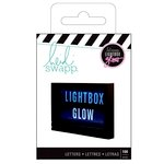 Heidi Swapp - LightBox Glow Collection - Mega Pack - Alphabet - Bold