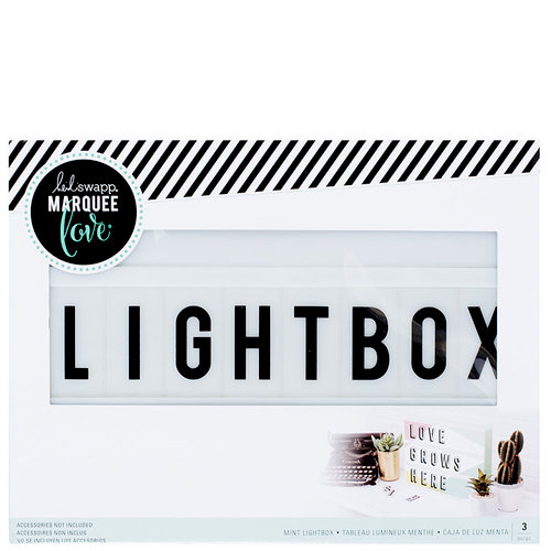 Heidi Swapp - LightBox Collection - Lightbox - Mint